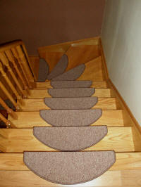 Carpet Stair Treads for Narrow Steps