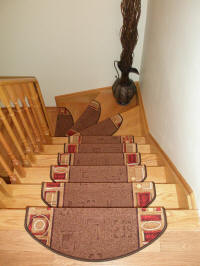 Non-slip Carpet Stair Treads made in Europe