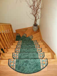 Carpet Stair Treads on stairmats.com USA